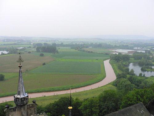 Aussicht vom Turm Schloss Marienburg