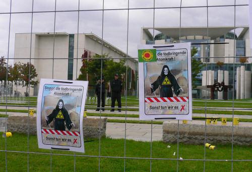 Stoppt die todbringende Atomkraft!