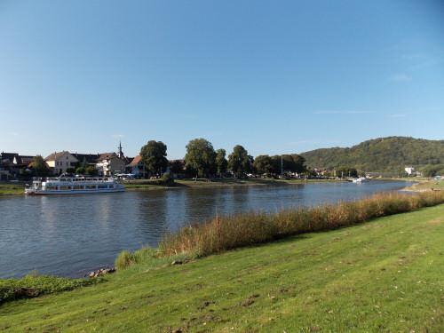 Die Weser bei Bodenwerder