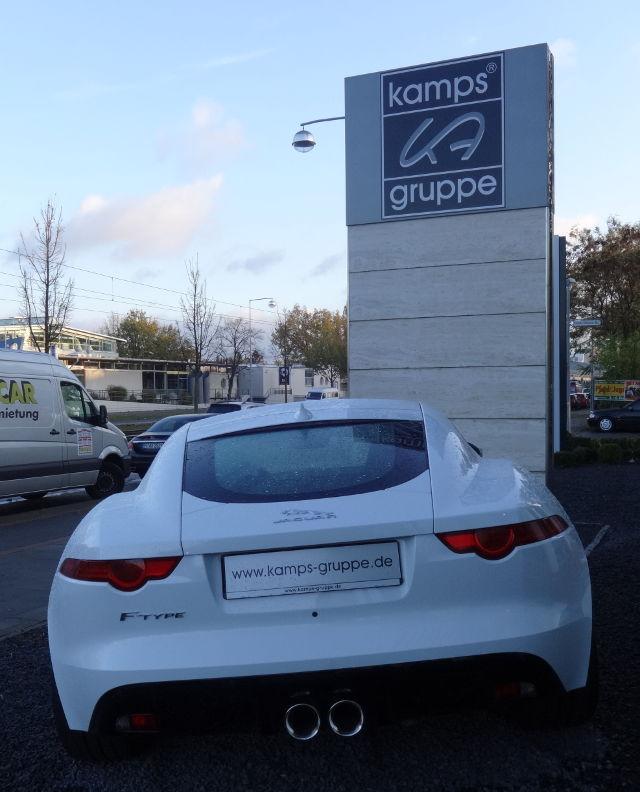 Das Hinterteil vom Jaguar :-)