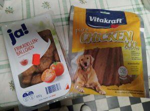 Frikadellen oder Pure Chicken von Vitakraft?